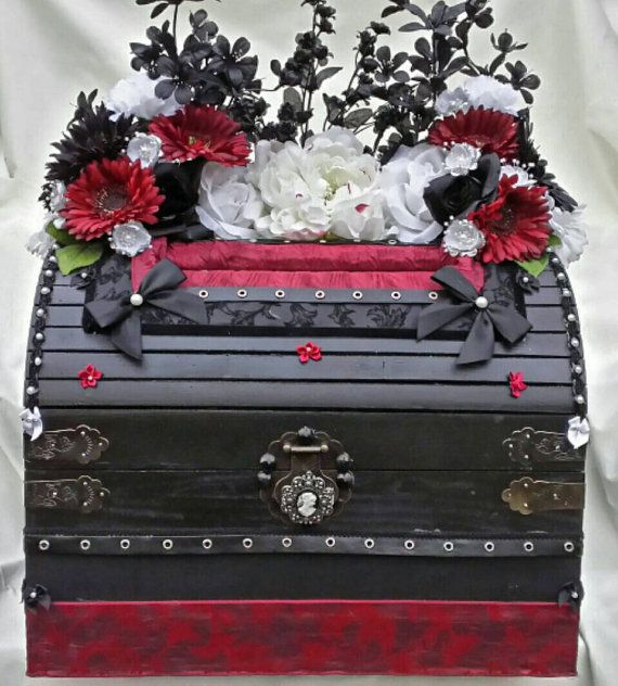 Gothic Wedding Card Box By On Etsy