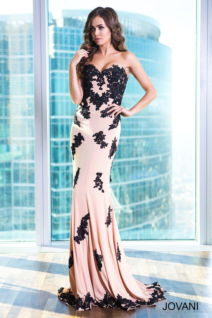 7 best Sleek Two Tone Black/Nude images on Pinterest | Prom 2015 ...