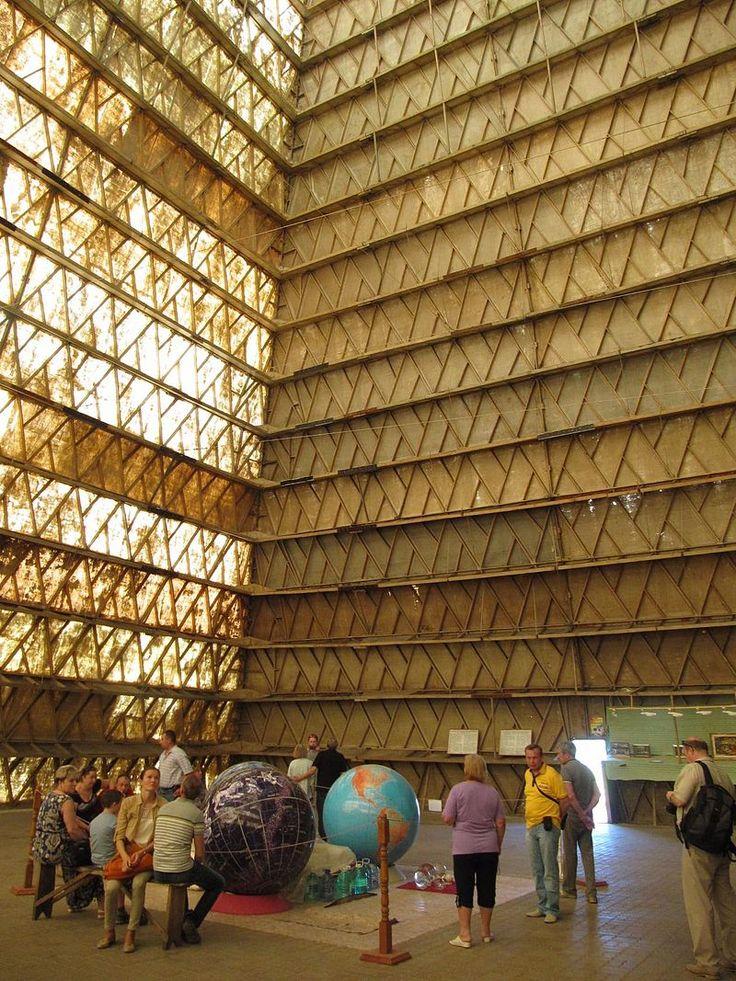 Pyramid inside - Пирамиды Голода — Википедия