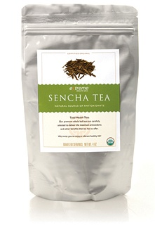 Sencha Tea. The most popular green tea in Japan, Sencha is made from the top parts of the tea leaf and tea buds. As with Green Tea, our Sencha Tea has high concentrations of antioxidants and beneficial polyphenols which help support the body's natural process to neutralize harmful free radicals.