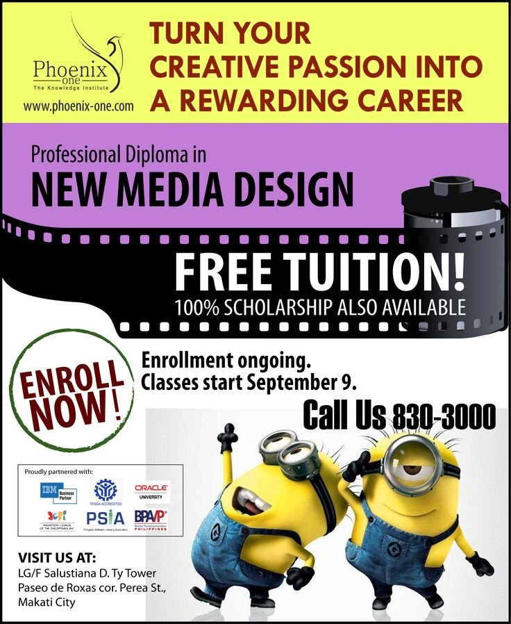 Build a rewarding career in the new media industry