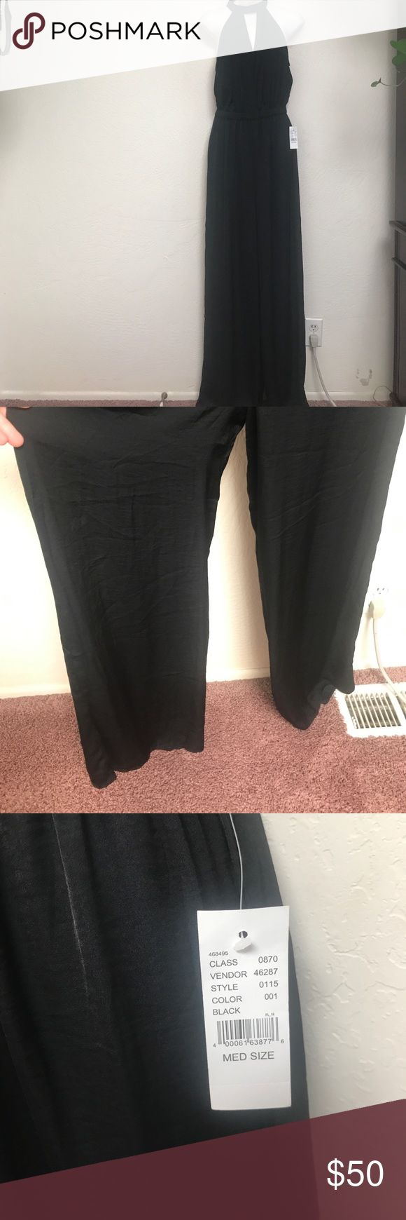 NWT Kendall & Kylie silky wide leg jumper Brand new from PAC sun I paid $75 Kendall & Kylie Pants Jumpsuits & Rompers