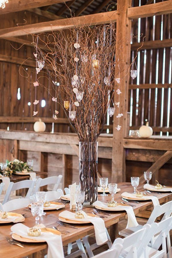 Rustic wedding decor ideas at The Barn / http://www.deerpearlflowers.com/rustic-wedding-details-ideas-you-will-love/2/