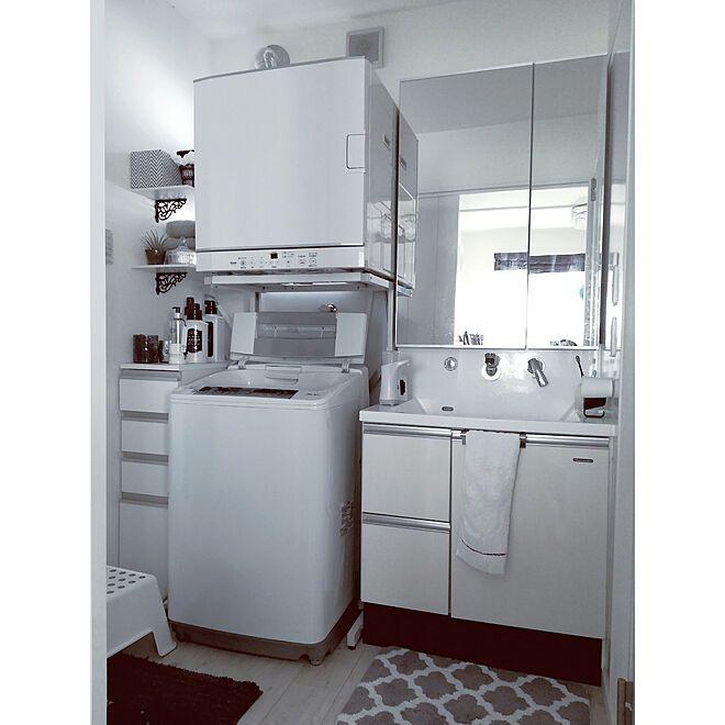 バス トイレ 洗面所 乾燥機 ガス乾燥機 乾太くん などのインテリア実例 2018 05 28 23 07 45 Roomclip ルーム