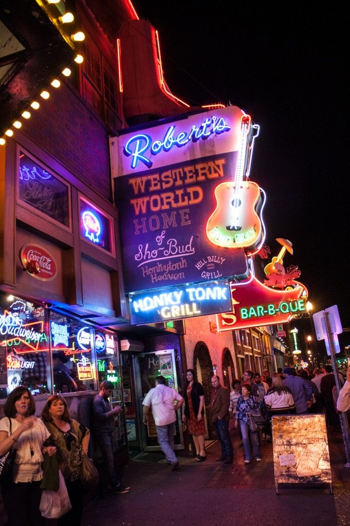 Broadway - Downtown Nashville-28