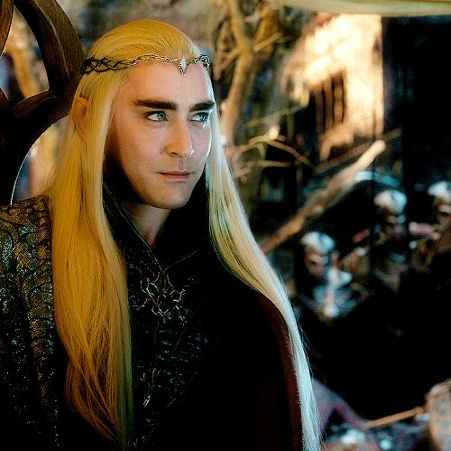 The Hobbit : the Battle of the Five Armies - Lee Pace as Thranduil #tent