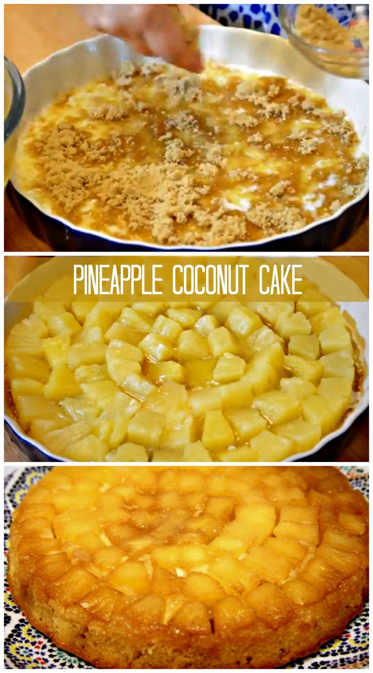 pineapple upside down cake eric wolitzky s pineapple upside down cake ...