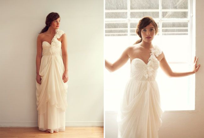 Sarah Seven Wedding Dresses  Spring 2011 Collection