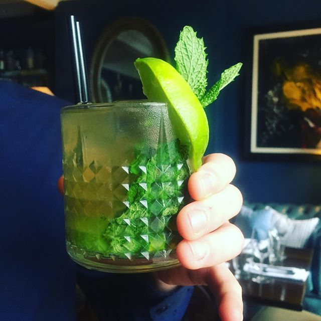 The Honeycomb Mojito! €5 all night Tonight :) #lovefood #frinally #friday #cocktailsanddreams #matenight #datenight #louthchat #eatateno #5eurococktail #mojito #itstheweekend #boom