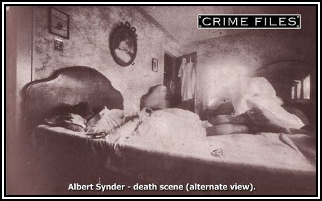 In 1925 Ruth Snyder decided to have her husband killed by his would-be replacement, Judd Gray, a corset salesman. The couple garroted Albert and when they failed to kill him quickly enough they stuffed rags soaked in chloroform up his nose. After Albert died in agonizing death, the couple failed to make the place seem as if it had been broken into. Cornered, the pair told on one another and both received the death penalty.