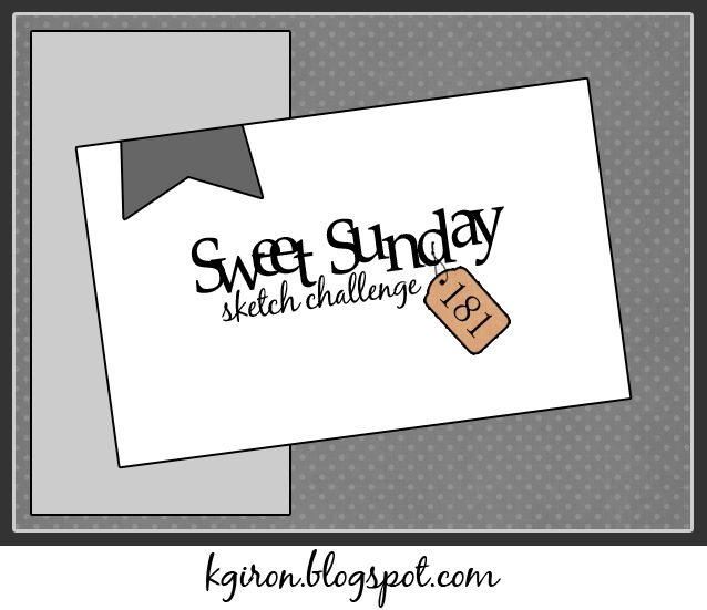 the sweetest thing...: Sweet Sunday Sketch Challenge 181