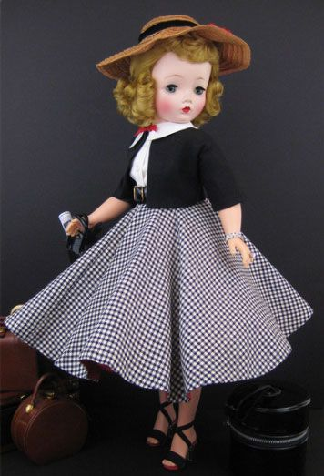 Original Cissy Doll with wardrobe of clothing (I had one of these too) I still have a Betsy McCall doll in pieces.