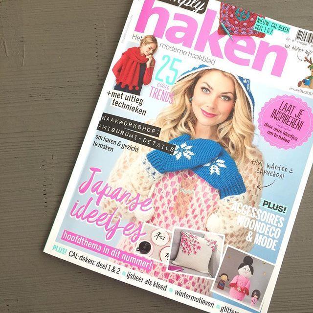 Ik haak al 3 jaar, maar heb nu voor het eerst pas de Simply Haken gekocht. Wát een heerlijk tijdschrift! 💛 Iemand al begonnen aan een project uit deze editie? #crochet #crochetaddict #amigurumi #yarn #haken #handwerk #crochetersofinstagram #handmade #virka #crafts #crafting #häkeln #heelhollandhaakt #hakeniship #hiphaken #hekle #virka #virkat #hakeln #uncinetto #yarnporn #örgü #croché #tejer #hipmetdraad #simplyhaken