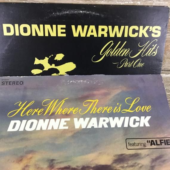 Dionne Warwick Records Vinyl Records Golden Hits Part 1 Here Where There Is Love Pop Rock N Roll Record Albums 33 Rpm Vinyl Records Golden Hits Dionne Warwick
