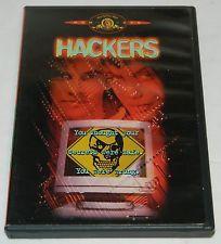 Hackers DVD 1998 Angeline Jolie, Jonny Lee Miller Fisher Stevens Lorraine Bracco