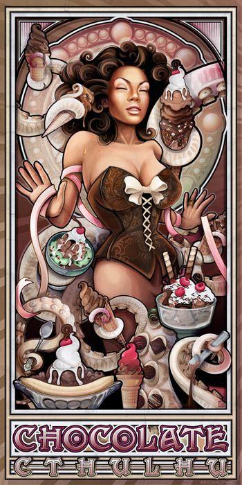 Chocolate Cthulu by Echo Chernik
