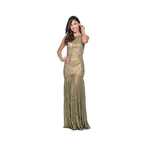 Ariel Lace Long Dress
