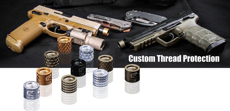 Backup Tactical | Firearm Thread Protectors