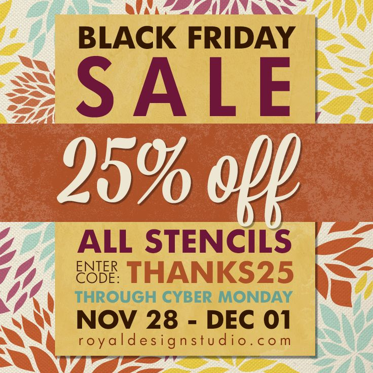 Our BIGGEST SALE Of The Year!! 25%