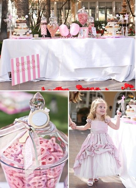 Princess girl birthday party- for when shes a little older