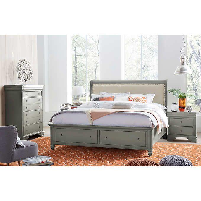 Carlisle 4-piece King Storage Bedroom Set | Bedroom ...