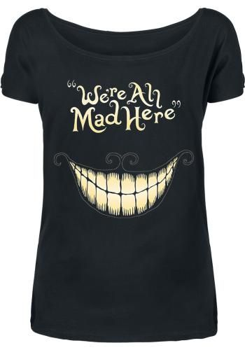 Mad Mouth - T-Shirt Manches courtes par Alice In Wonderland