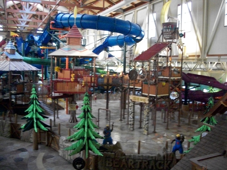 Waterpark at the Great Wolf Lodge Niagara Falls Ontario Canada. Great place to take your family.