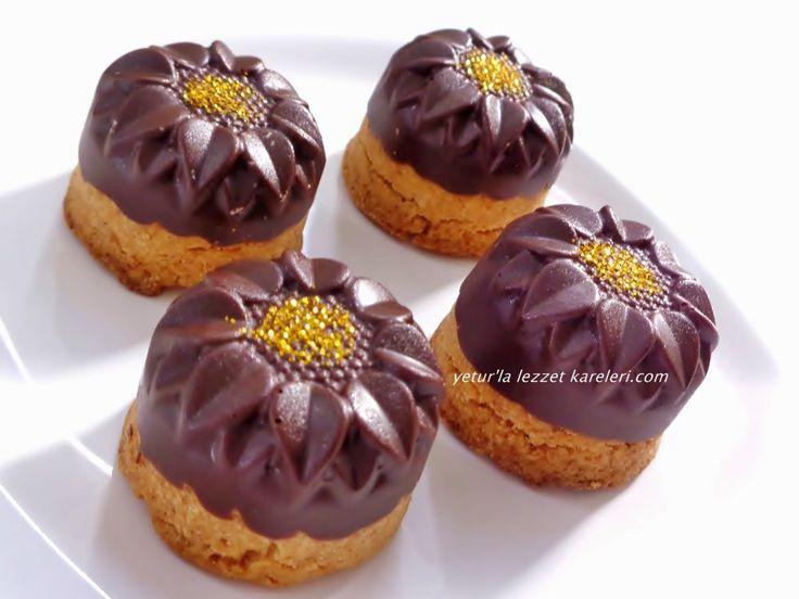yetur'la lezzet kareleri: çikolatalı kurabiye