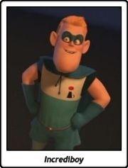 Incrediboy / Buddy Pine / Syndrome / Los Increíbles / The Incredibles / Pixar / Brad Bird / 2004