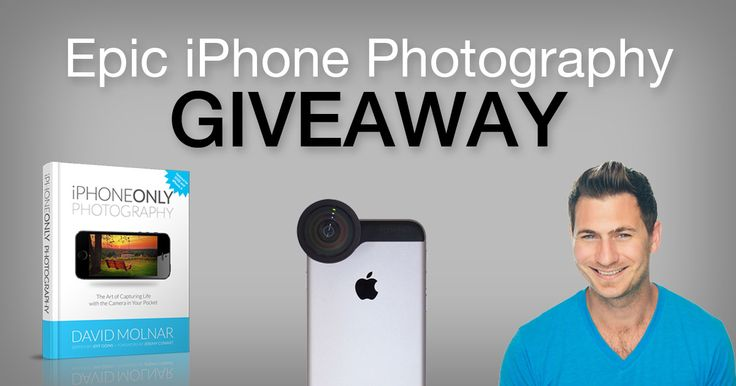 Epic iPhone Photography Resources Giveaway