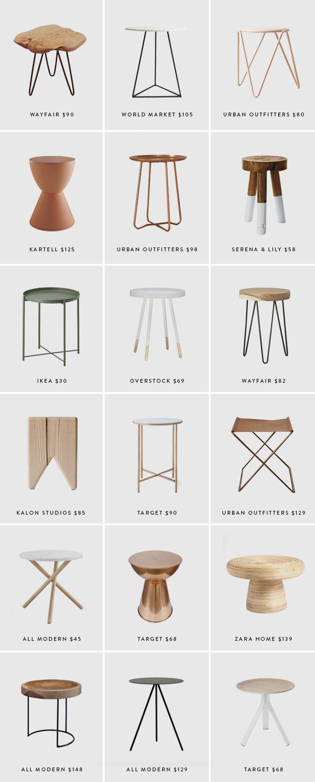Die besten 25 modern end tables ideen auf pinterest - Gebrauchte wohnzimmertische ...