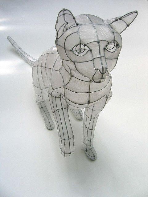 wire tissue sculpture_ flickr polyscene_ polly verity
