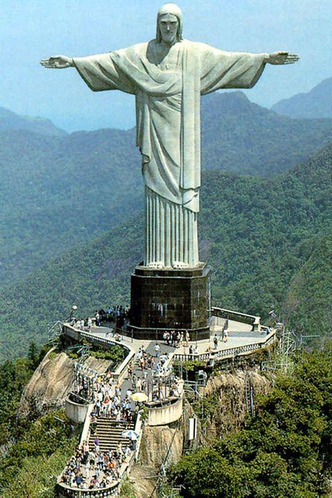 Cristo Redentor.. Cidade Maravilhosa... Eu  Rio de Janeiro.