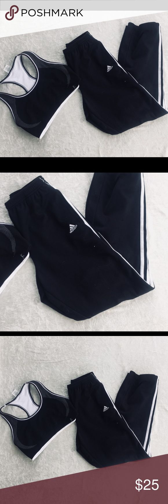 Adidas Jogging Pants sz Small These jogging pants are in great condition, perfect for a morning run! adidas Pants Track Pants & Joggers