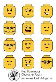 Best 25+ Lego Faces ideas on Pinterest | Lego decorations, Lego ...