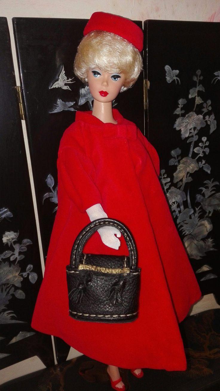 Mini bolso, bag hand made for Barbie, Silkstone, Royal Fashion