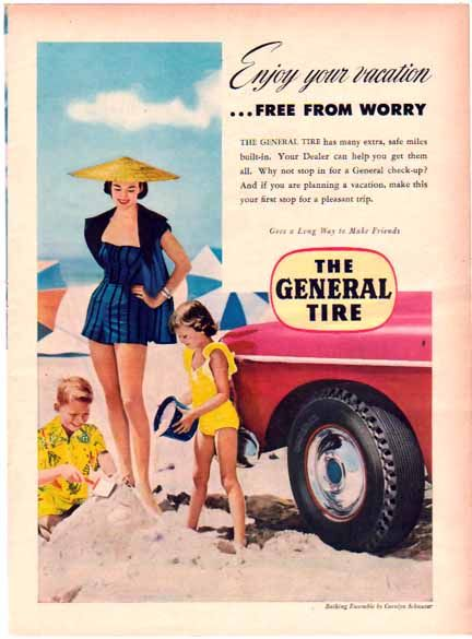 29 best Vintage General Tire Ads images on Pinterest | General tire ...