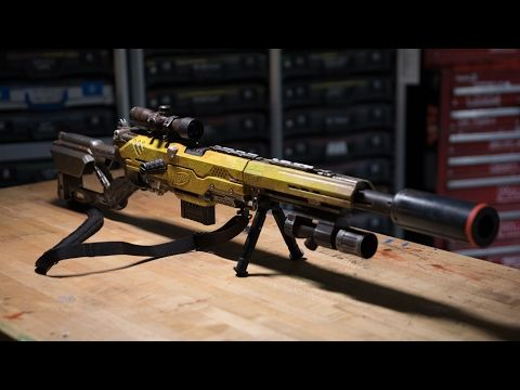 Adam Savage's One Day Builds: Custom NERF Rifle - Tested
