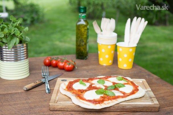 Domáca pizza na grile - Recept