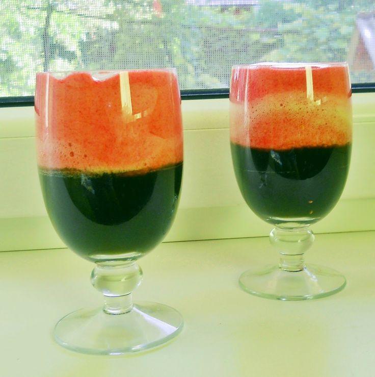 mint and raspberry drink, mint, raspberry