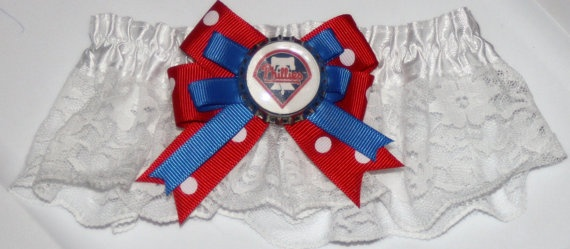 Phillies Phillies Garter Set of 2 Keep one and toss by bowsforme, $25.00: Philly Garter, Bowsform, Garter Sets, Toss, Philly Philly