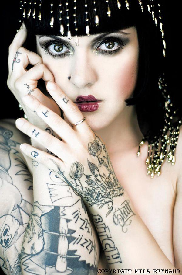 Cleopatra was tattooed