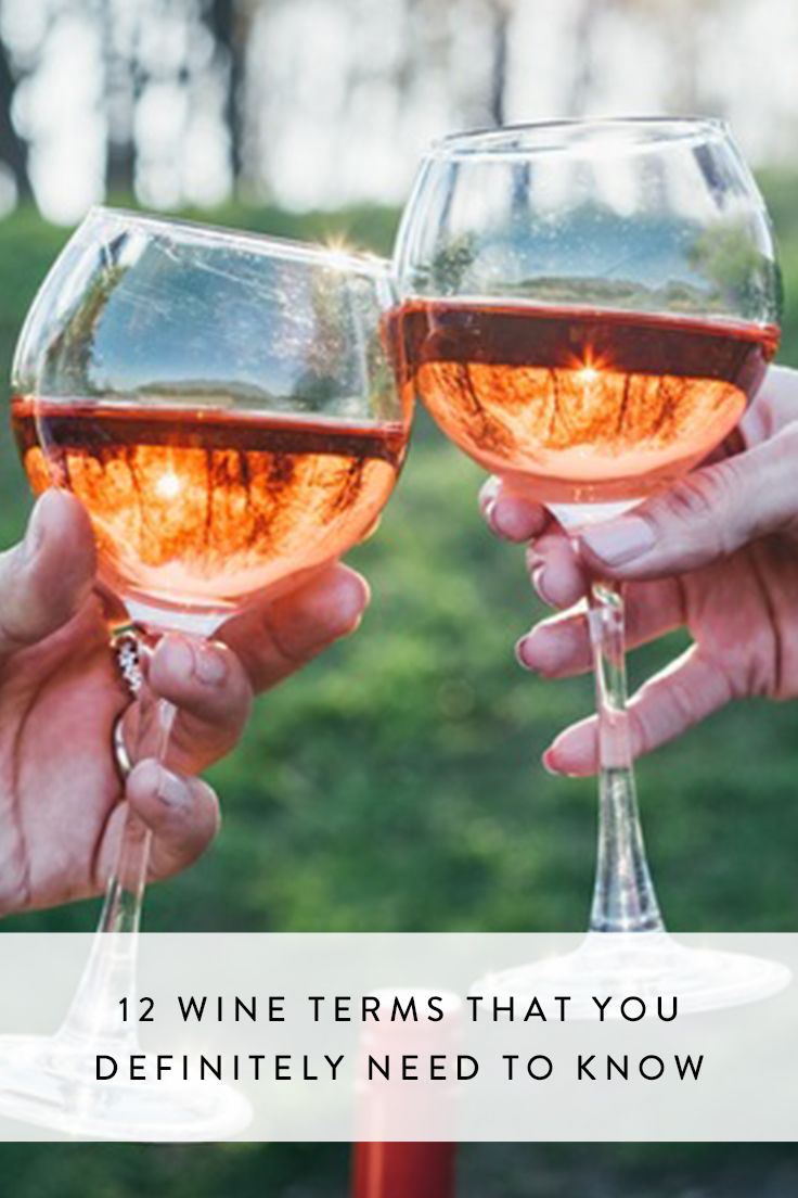 Rosé knowledge is power. Check out this handy guide to wine terms you should know.