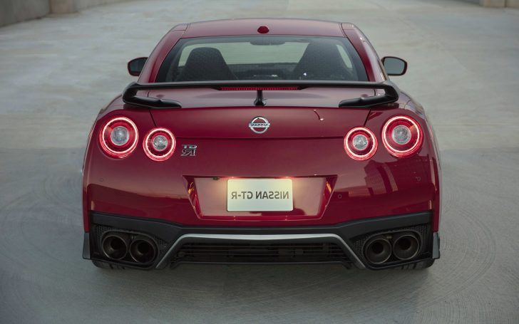 2018 Nissan GT R Track Edition Back View