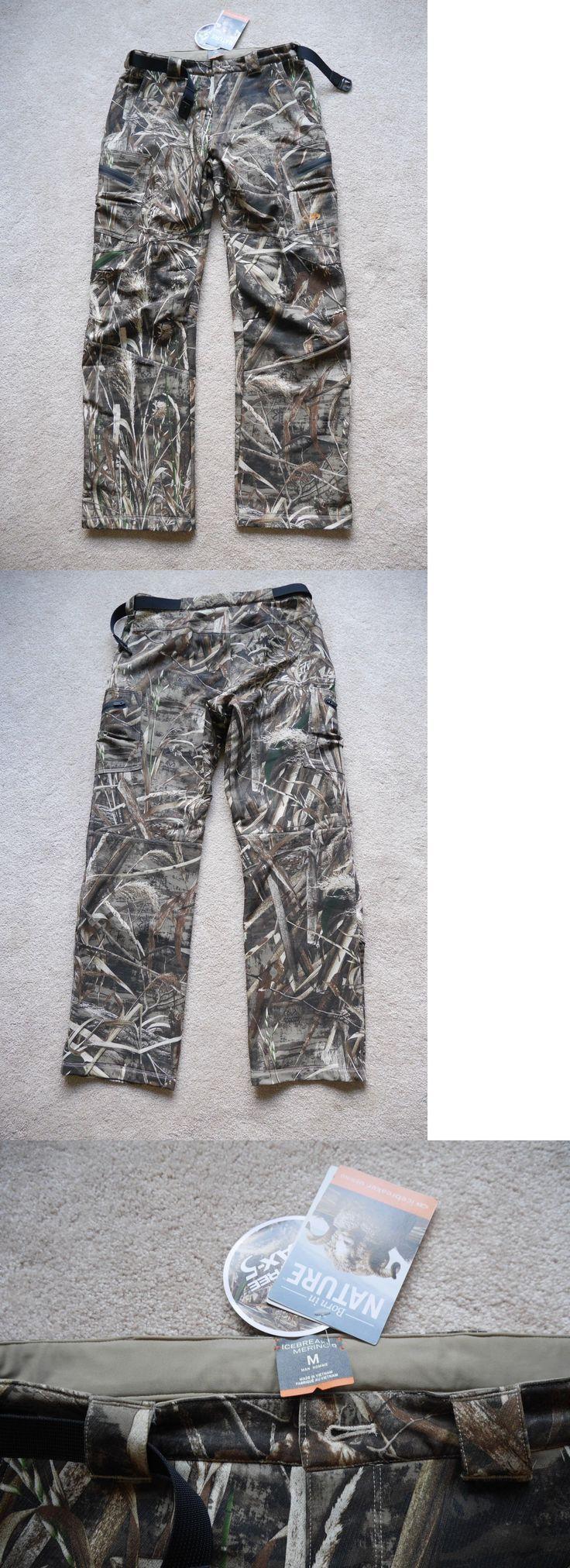 Base Layers 177867: Icebreaker Ika Merino Wool Hunting Pants, Men S M Realtree Max 5 -> BUY IT NOW ONLY: $100 on eBay!