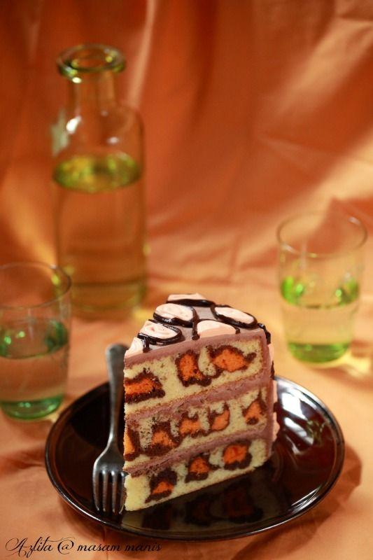masam manis: LEOPARD CAKE / CHEETAH CAKE