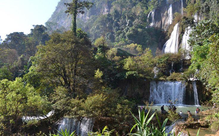 Thi Lo Su Wasserfall in Umphang
