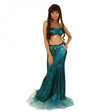 Womens Mermaid Goddess Costume