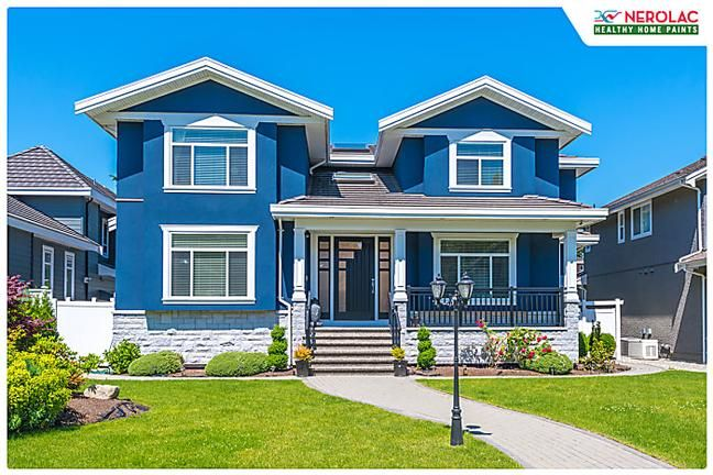 Pick From A Range Of Nerolac Colours Get Healthy Home Paints Expert Guidance Paint House Paint Exterior Exterior Paint Colors For House Exterior Paint Color