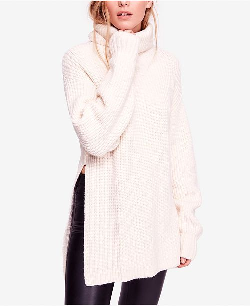 48090458ad Eleven Oversized Cowl-Neck Sweater